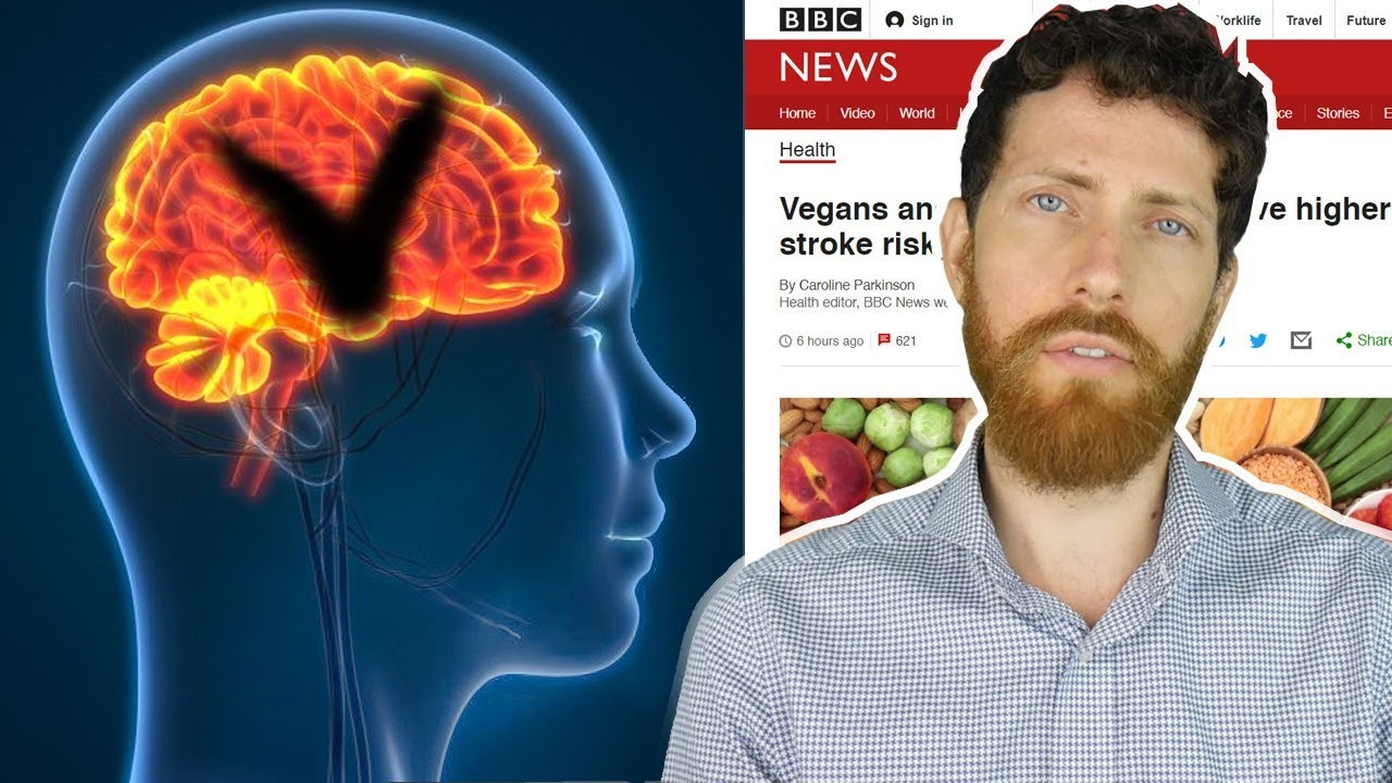 Higher Stroke Risk of Vegans and Vegetarians Debunked