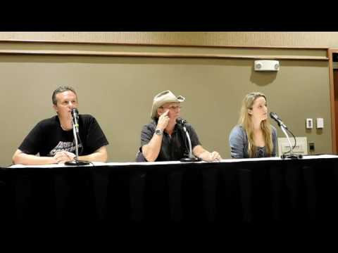 Steve Downes and Jen Taylor Panel at Game On Expo