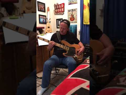 Bass Cover Of Alabama Pines By Jason Isbell Youtube