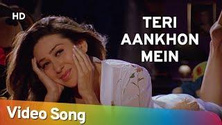 Teri Aankhon Mein | Aashiq (2001) | Bobby Deol | Karisma Kapoor | Filmi Gaane