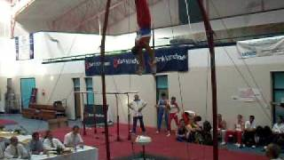 Wajdi Bouallegue (Tun) Rings 2010 10th African Gymnastics Championship Seniors EF