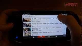PS Vita YouTube App Tutorial