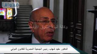 """بالفيديو: شهاب أزمة النيل تصل إلى """" 625 مليار متر مكعب للفرد"""""""