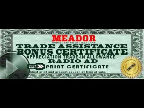Meador Auto Fort Worth Radio Ad September 2016