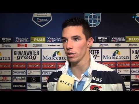 AZ verdediger Nick Viergever