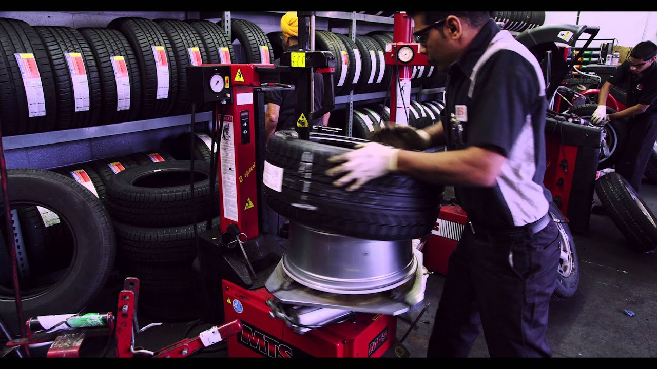 Santa Barbara Tire Shop Big Brand Tire Service Youtube