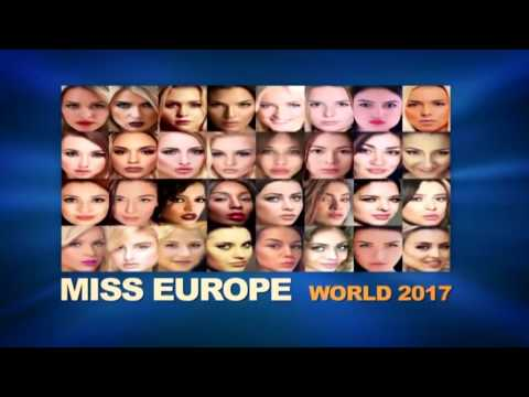 Miss Europe World 2017 Contestants part 1