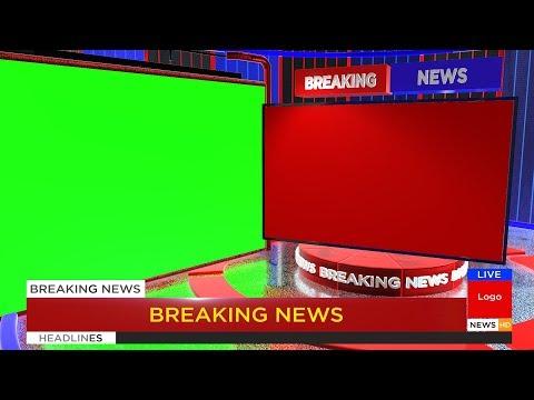 Free Breaking News Green Screen Animation