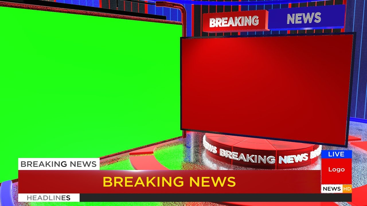 Breaking News Green Screen | After Effects 2019 Video Template - YouTube