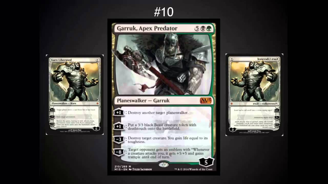 Top 10 cards core 2015 mythic mtg tech 121 youtube for Best cards for 2015