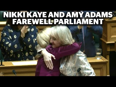 National MPs Nikki Kaye And Amy Adams Farewell Parliament