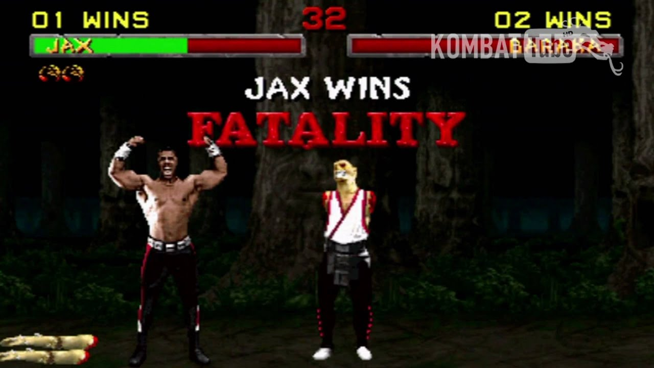 Mortal Kombat Jax Fatality