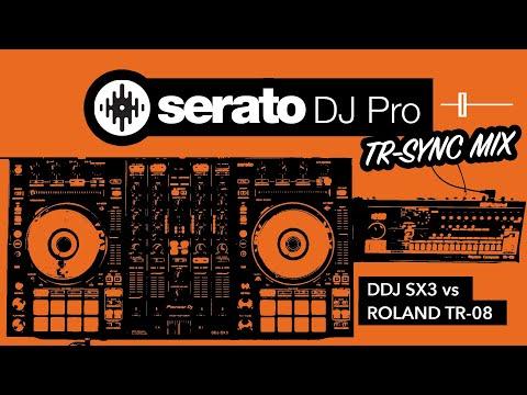Serato TR-Sync - DDJ SX3 & Roland TR-08 DJ Mix - Midweek Motivation