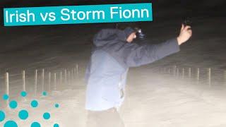 STORM FIONN HITS NORTHERN IRELAND