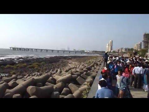 "Monday(9-5-2016) :- Planet Mercury transit observation  from ""Worli Sea-Face"" in Mumbai."