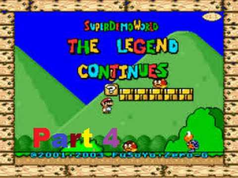 Let's Play Super Demo World The legend Continues Part 4: ICH HASSE DIESE PYRAMIDE!!!