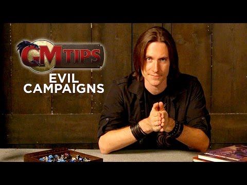 How To Run An EVIL RPG Campaign! (GM Tips W/ Matt Mercer)