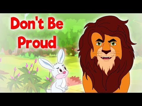 Don't Be Proud - Panchatantra In English - Cartoon / Animated Stories For Kids