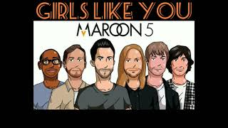 Girls like you - Maroon 5 Official Mp3 audio