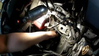 Установка доп радиатора CVT на Mitsubishi Outlander xl 2011
