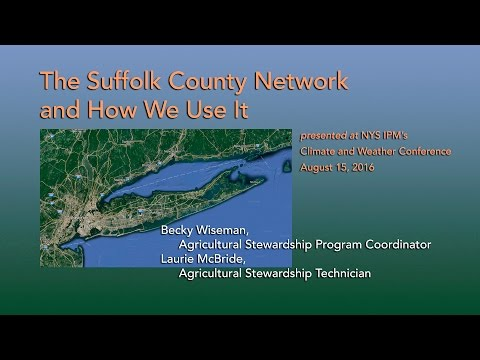The Suffolk County Network and How We Use It
