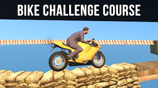 EXTREME BIKE CHALLENGE COURSE | GTA 5 Map Mods