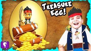 Giant Gold TREASURE Surprise Egg by HobbyKidsTV