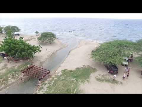 Drone Video of Dominican Republic and Haiti