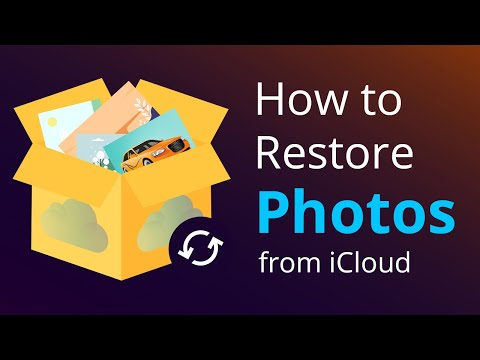 How to recover photos from iphone icloud