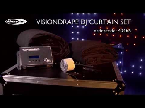 Showtec Visiondrape DJ Curtain Set. Ordercode: 40466.