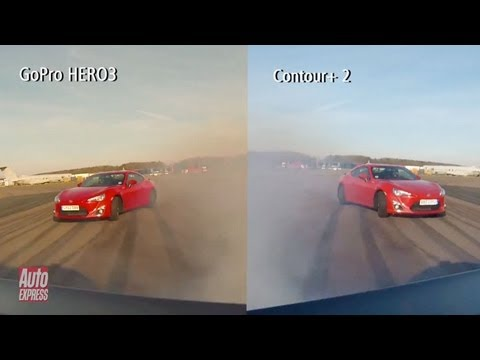 GoPro HERO 3 vs Contour+ 2 review - Auto Express
