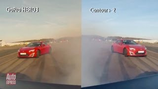 GoPro HERO 3 vs Contour+ 2 review - Auto Express