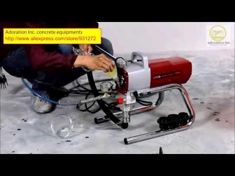 a portable (220V ± 40V)spray  machine polyurethane epoxy painting