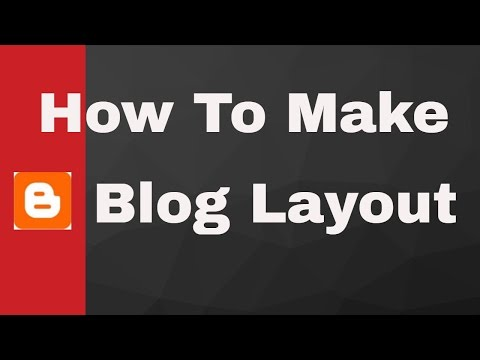 2# How to make blog Layout