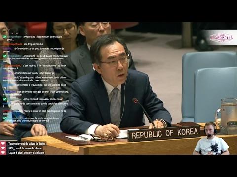 La Corée du Nord : seule contre tous ? [La communauté de l'ONU du 07/06/17]