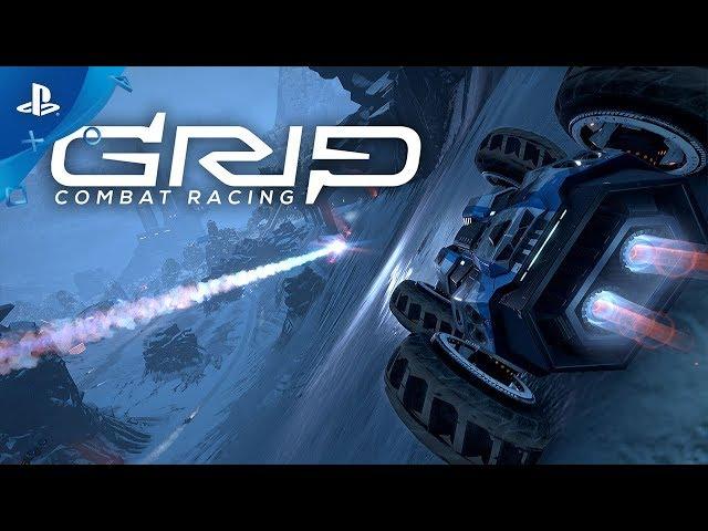 GRIP: Combat Racing - Soundtrack Spotlight feat. Hospital Records | PS4