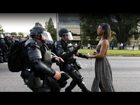 Woman In Iconic Baton Rouge Standoff Photo Breaks Silence
