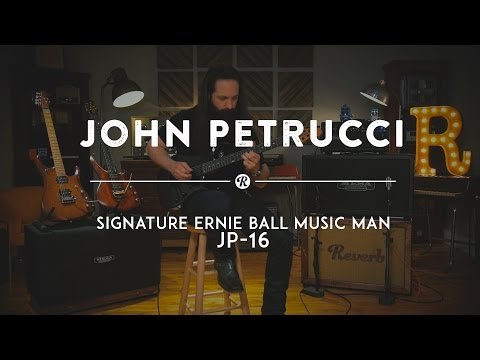 John Petrucci and His Ernie Ball Music Man Signature JP16   Reverb Gear Demo