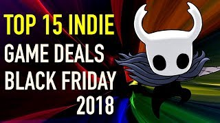 Best 15 Black Friday Indie Game Deals on PC and Consoles 2018