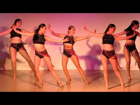 Comadreja Salsa Congress 2015 ~ Karen Forcano Ladies Crew
