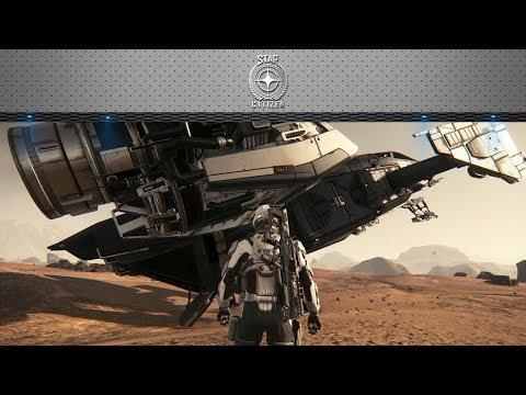 Star Citizen 3.0 PTU(test server): First Landing on Planets