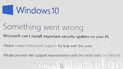OOBE Error On Windows 10 Install - OOBESETTINGS Error