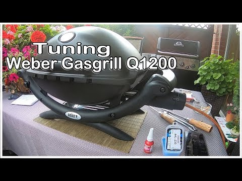 Tuning Weber Gasgrill