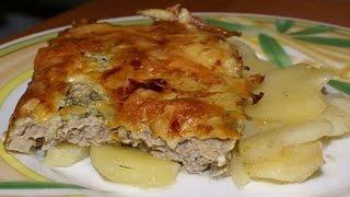 Картофель по-французски. Сковорода. Рецепт.