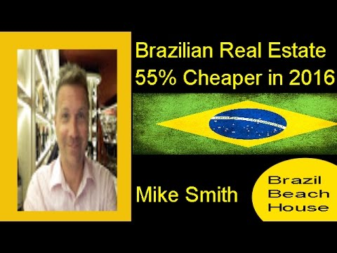 Brazilian Real at 13 Year Low to Dollar,Euro,Pound/Investment 55% cheaper.