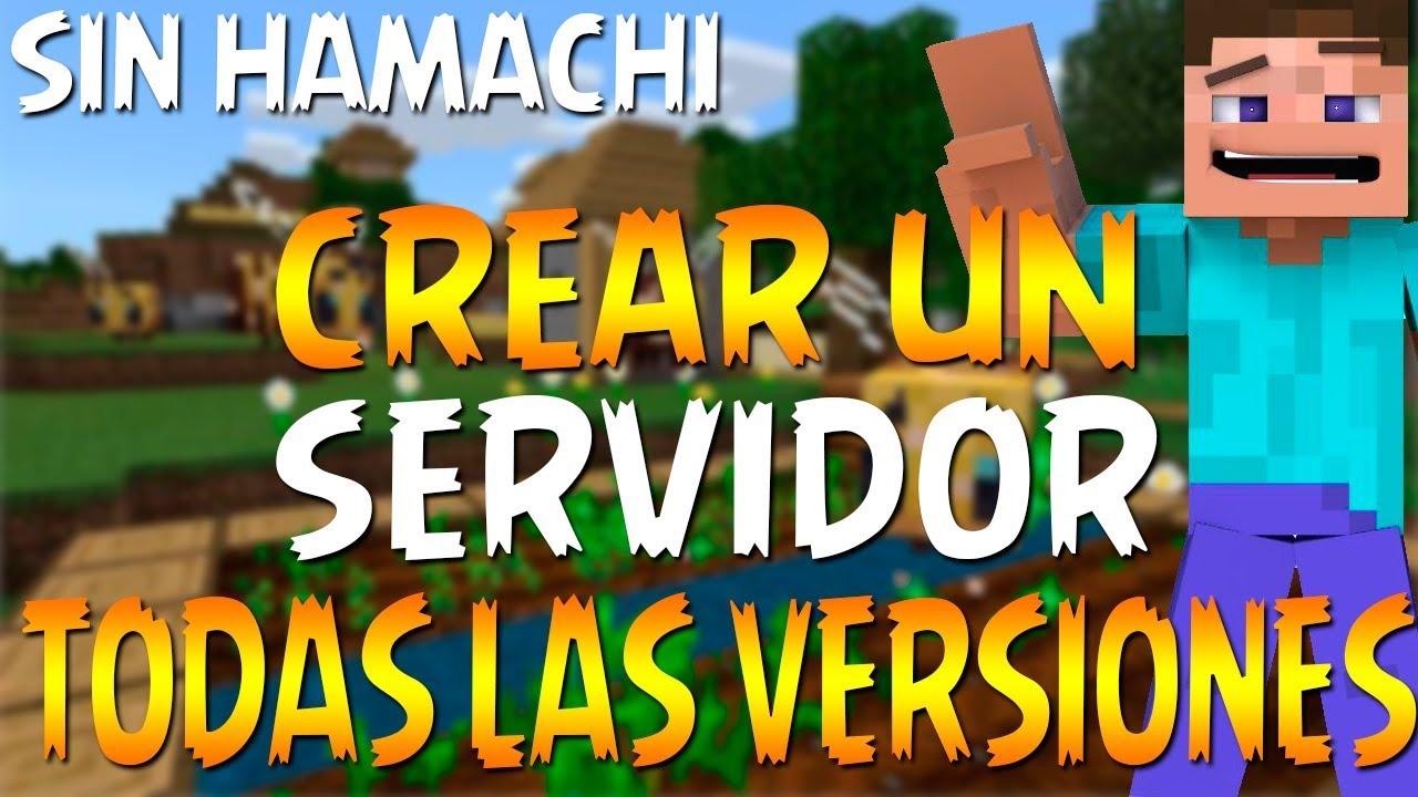 Como crear un server de Minecraft 1.15 - NO PREMIUM Y ...