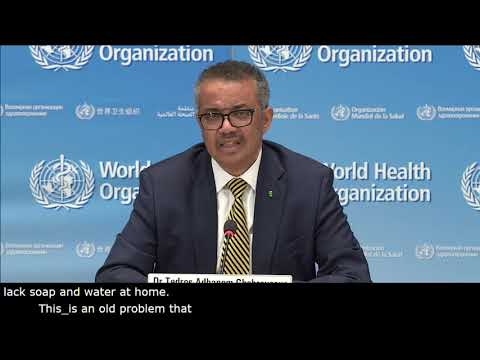 Live from WHO Headquarters - COVID-19 daily press briefing 04 May 2020