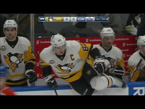 Crosby and McDavid don't score, but put on an exciting display early