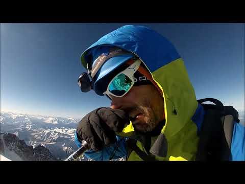 Ascensión al Mont Blanc en estilo alpino por la normal. Mont Blanc summit, September 2017