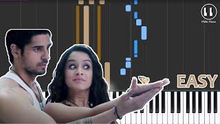 Teri Galiyan - EASY Piano Tutorial - Ek Villian (2014)